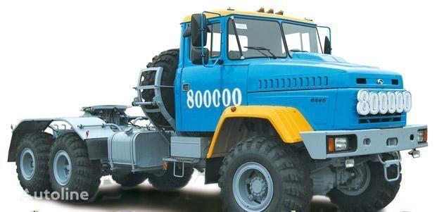 KRAZ 6446 tractora