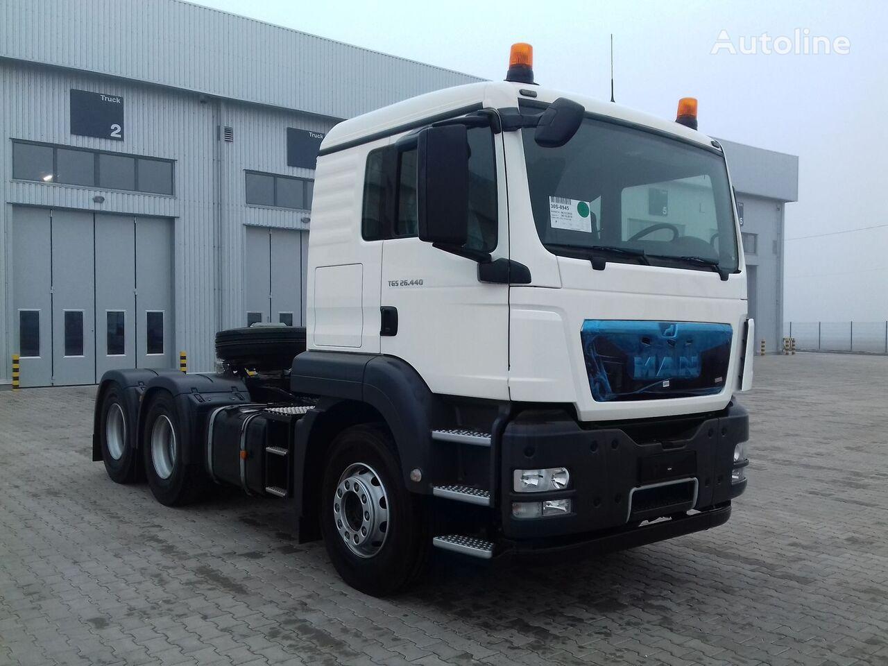 MAN TGS 26.440 tractora nueva
