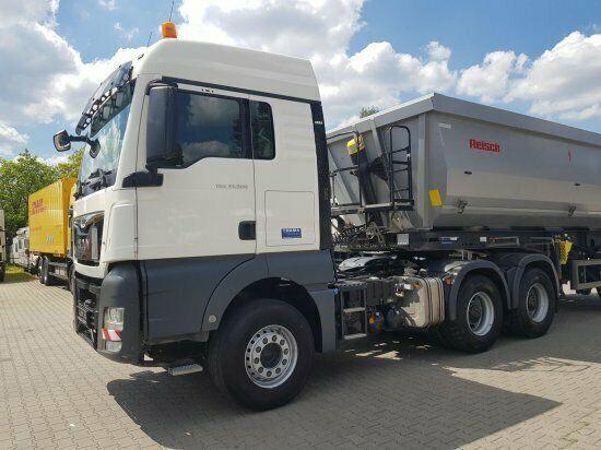 MAN TGX 33.500 XLX 6x4, Kipp-Hydr., Mietka tractora