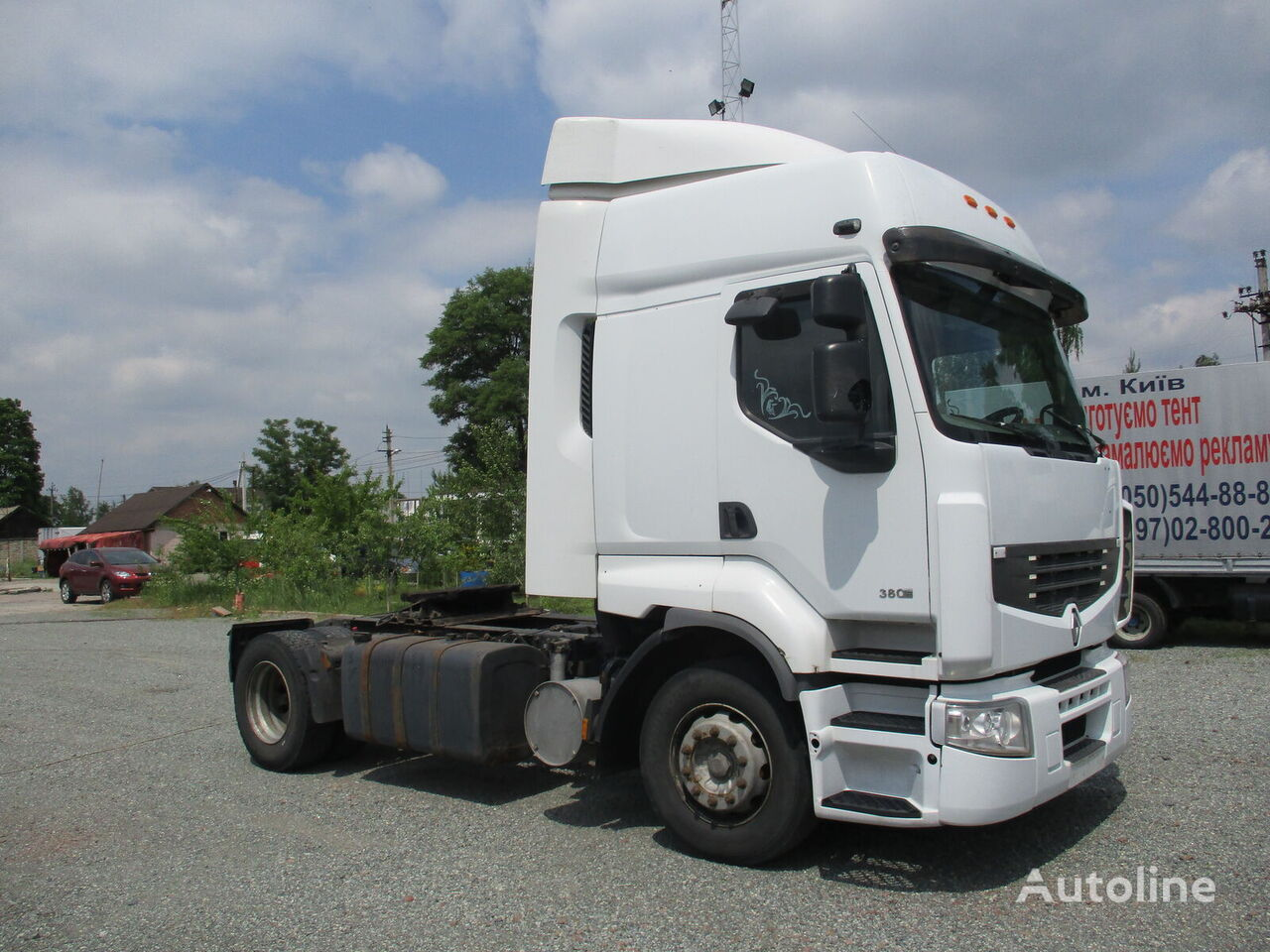 RENAULT DXI.380 Euro3 tractora
