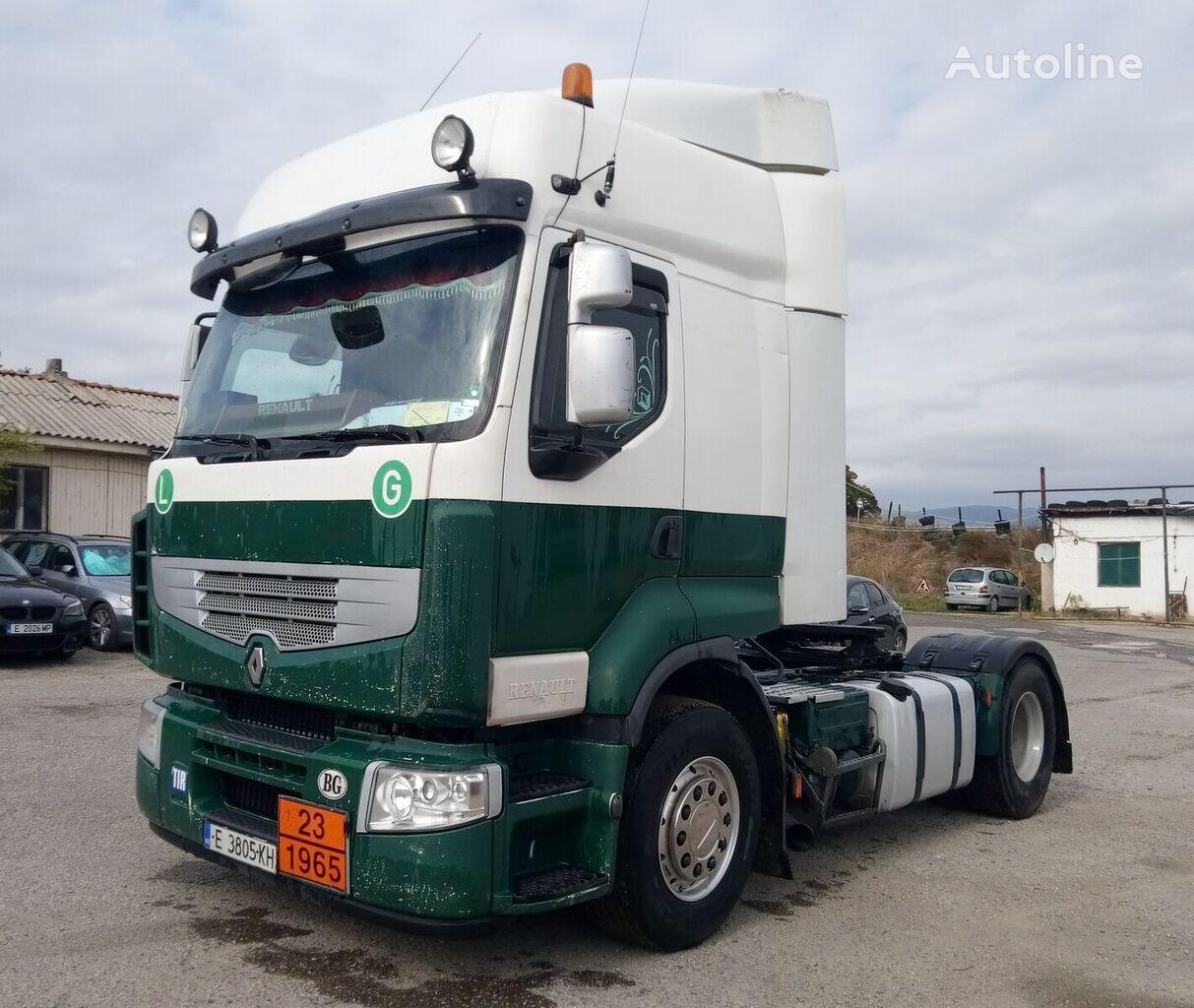 RENAULT Premium 440 DXI tractora