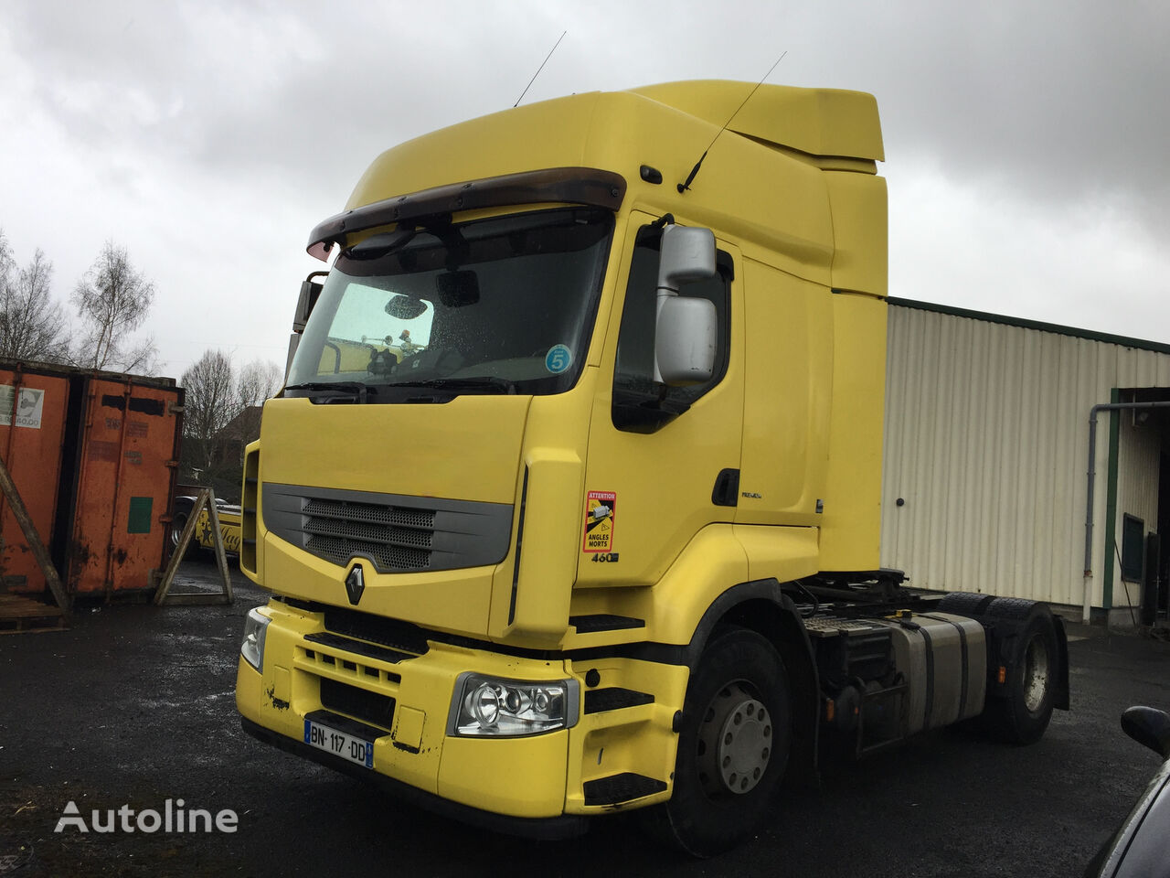 RENAULT Premium 460 Dxi   tractora