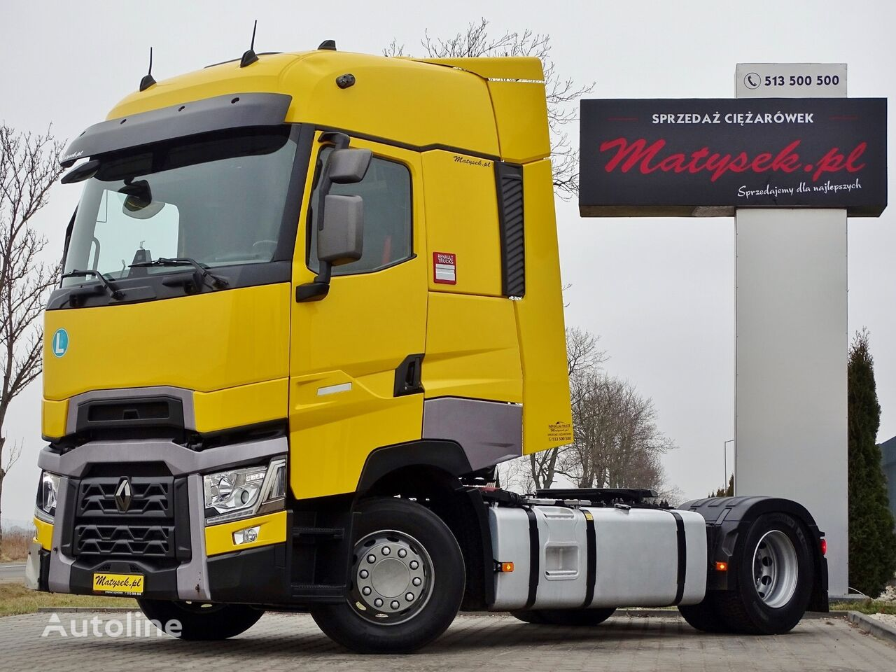 RENAULT T 440 / HIGH CAB  / ACC / I-COOL  tractora