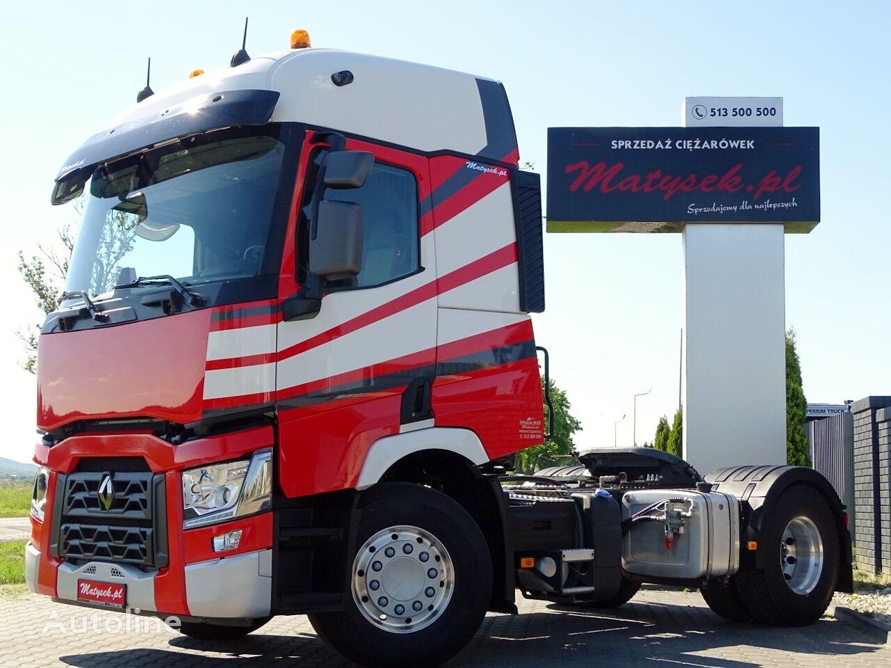 RENAULT T 440 / KIPPER HYDRAULIC SYSTEM / LIKE NEW / 79000 KM /  tractora