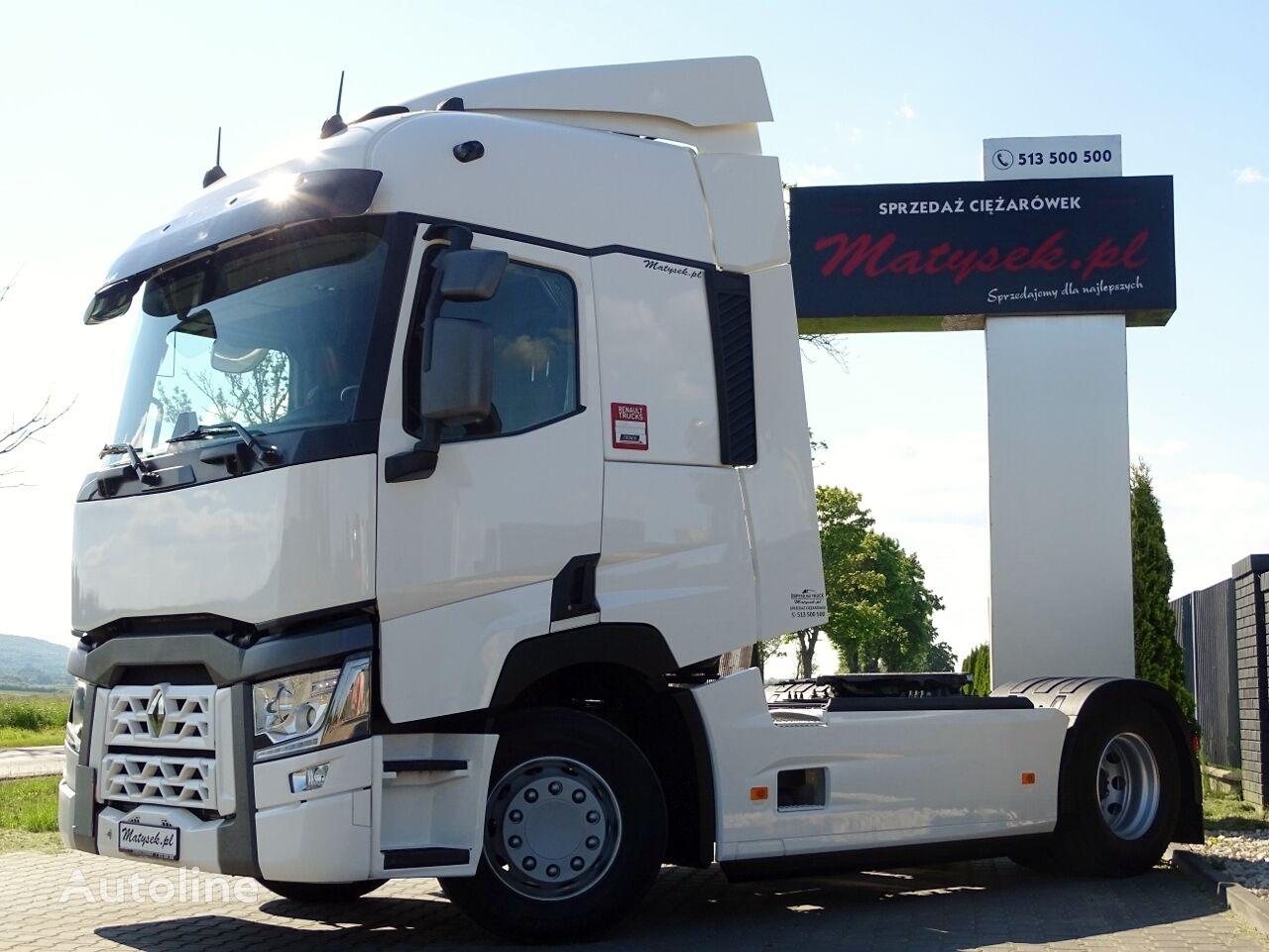 RENAULT T 480 / RETARDER / ACC / EURO 6 / 2017 YEAR / tractora