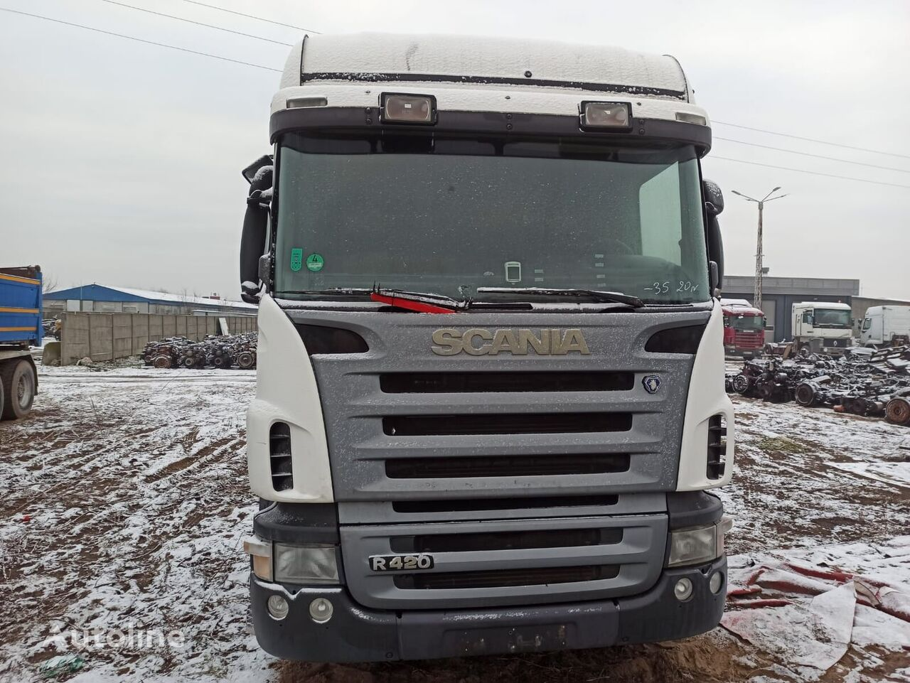SCANIA 124R 420KM MANUAL tractora
