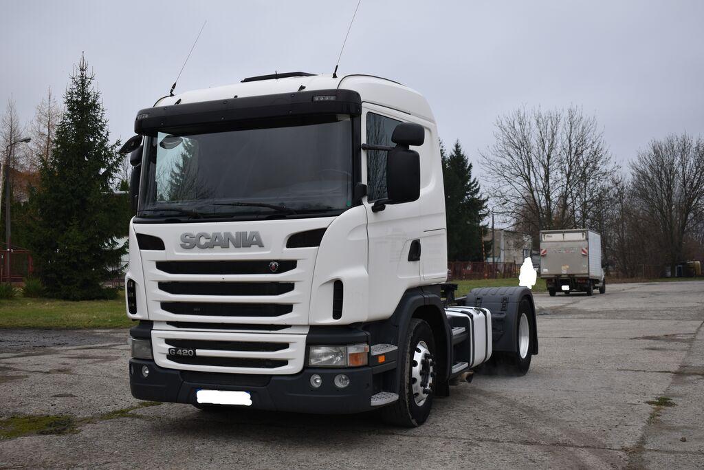 SCANIA G 420 z Francji/Retarder tractora