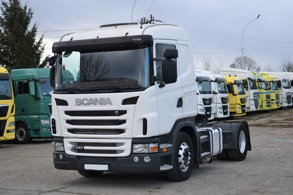 SCANIA G420 Euro 5 z Francji / Retarder tractora