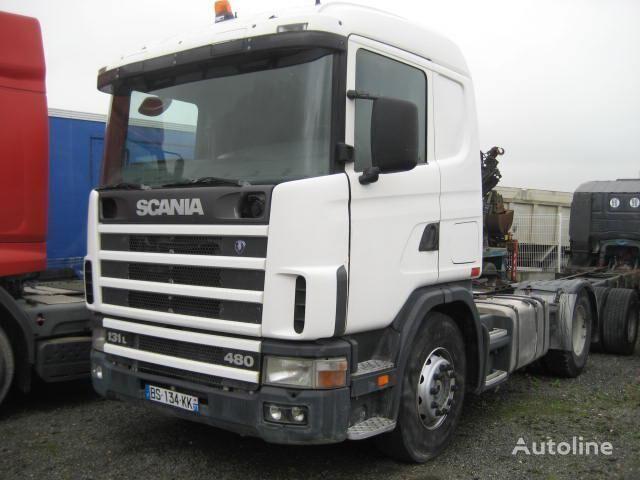 SCANIA L 114L380 tractora