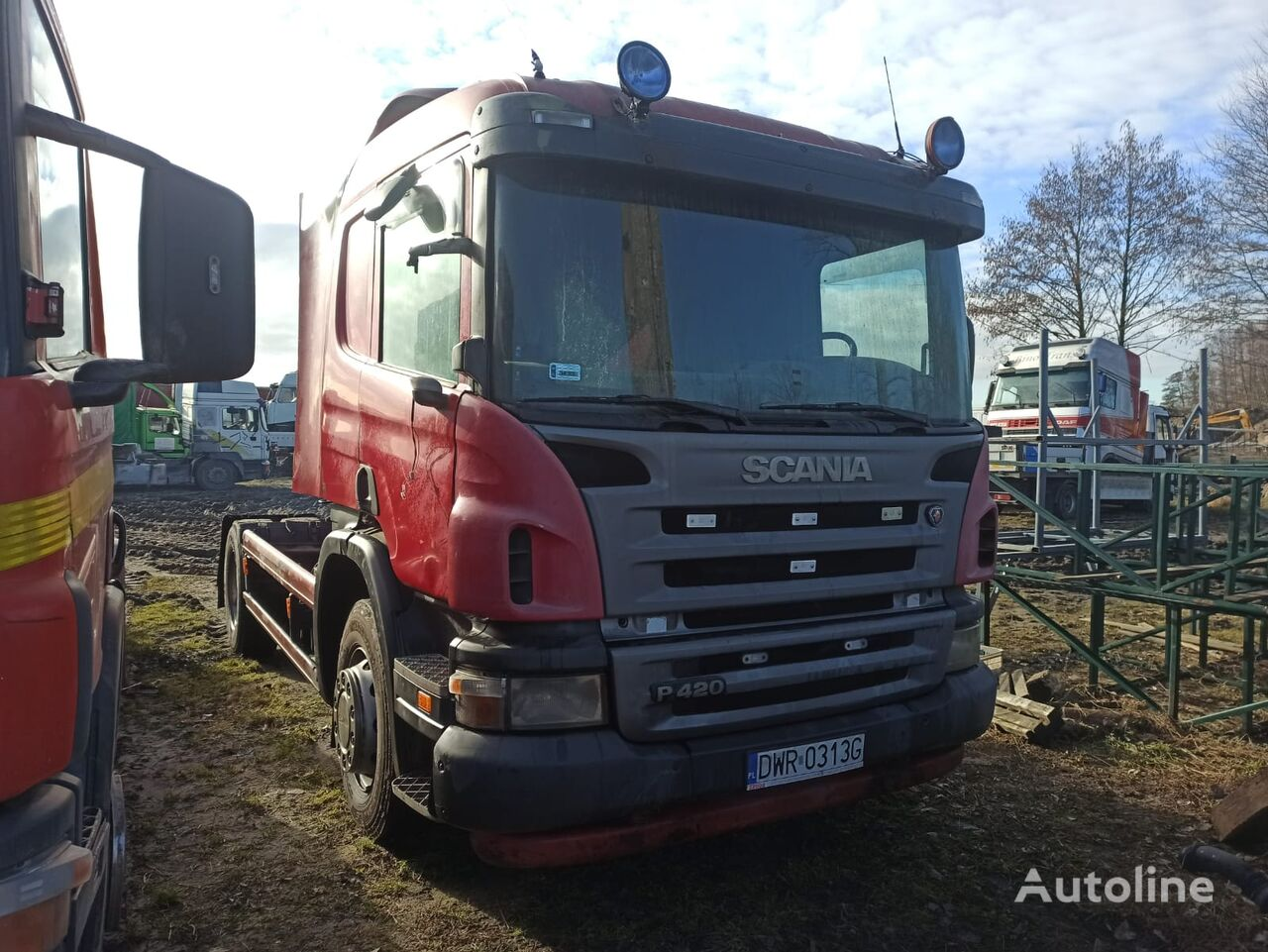 SCANIA P420  tractora