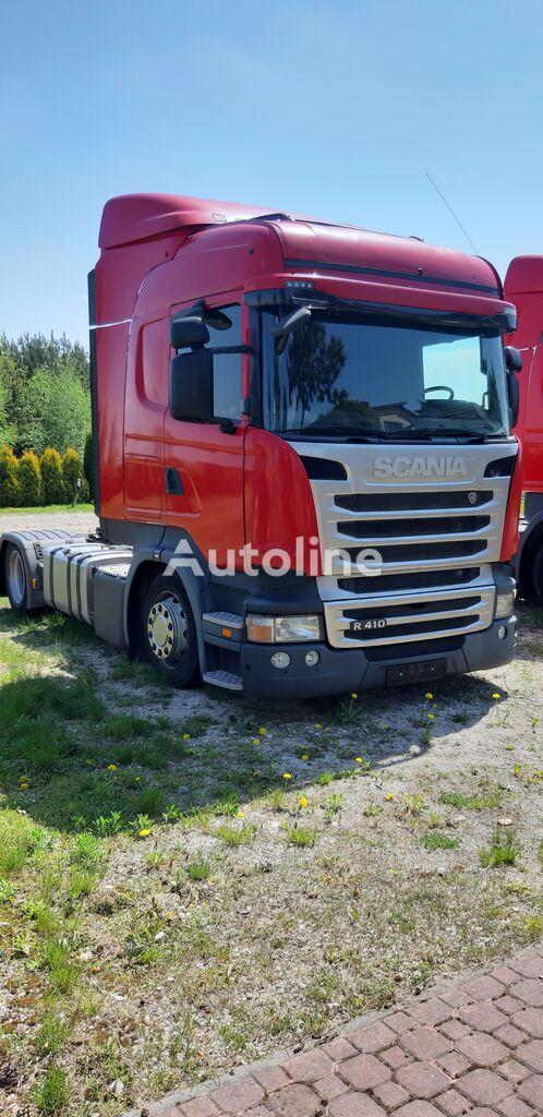 SCANIA R410 EURO 6 LOW DECK  , tachograf oryginalny tractora