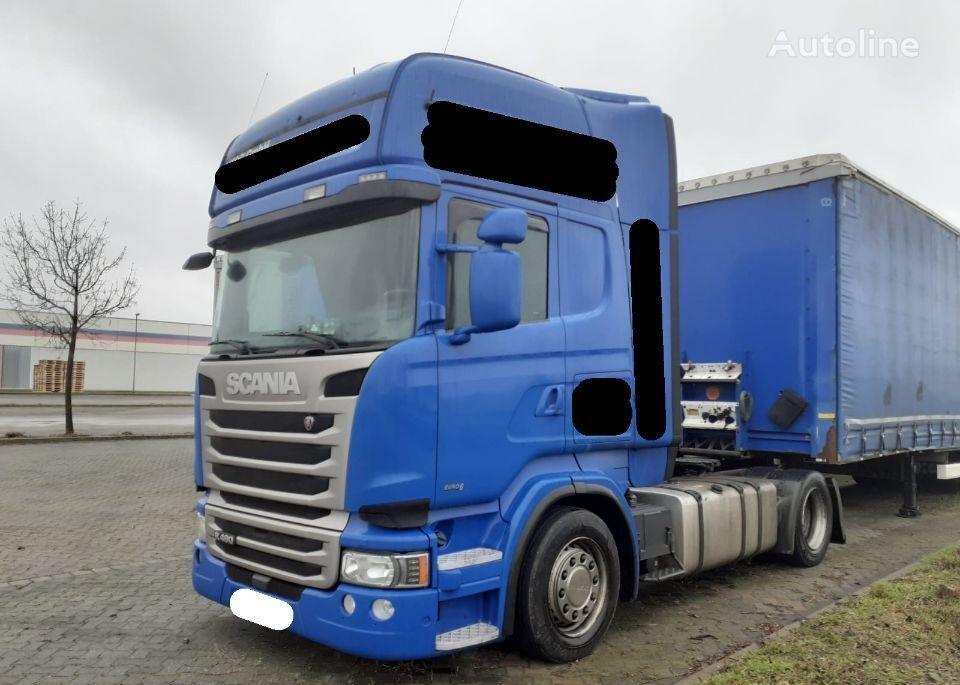 SCANIA R490 low deck mega 2014 z Niemiec Naci duże kotły 580Tkm tractora