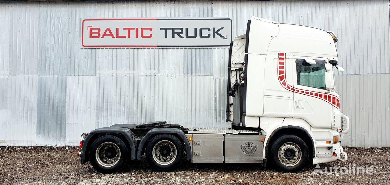 SCANIA R730 + HYDRAULICS tractora