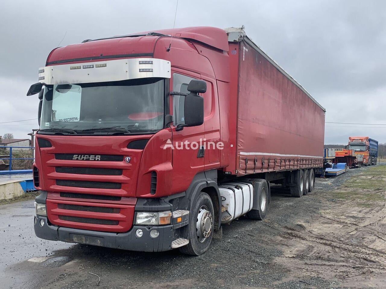 SCANIA SCANIA R420 EURO5 GRSO905  DC1215 tractora