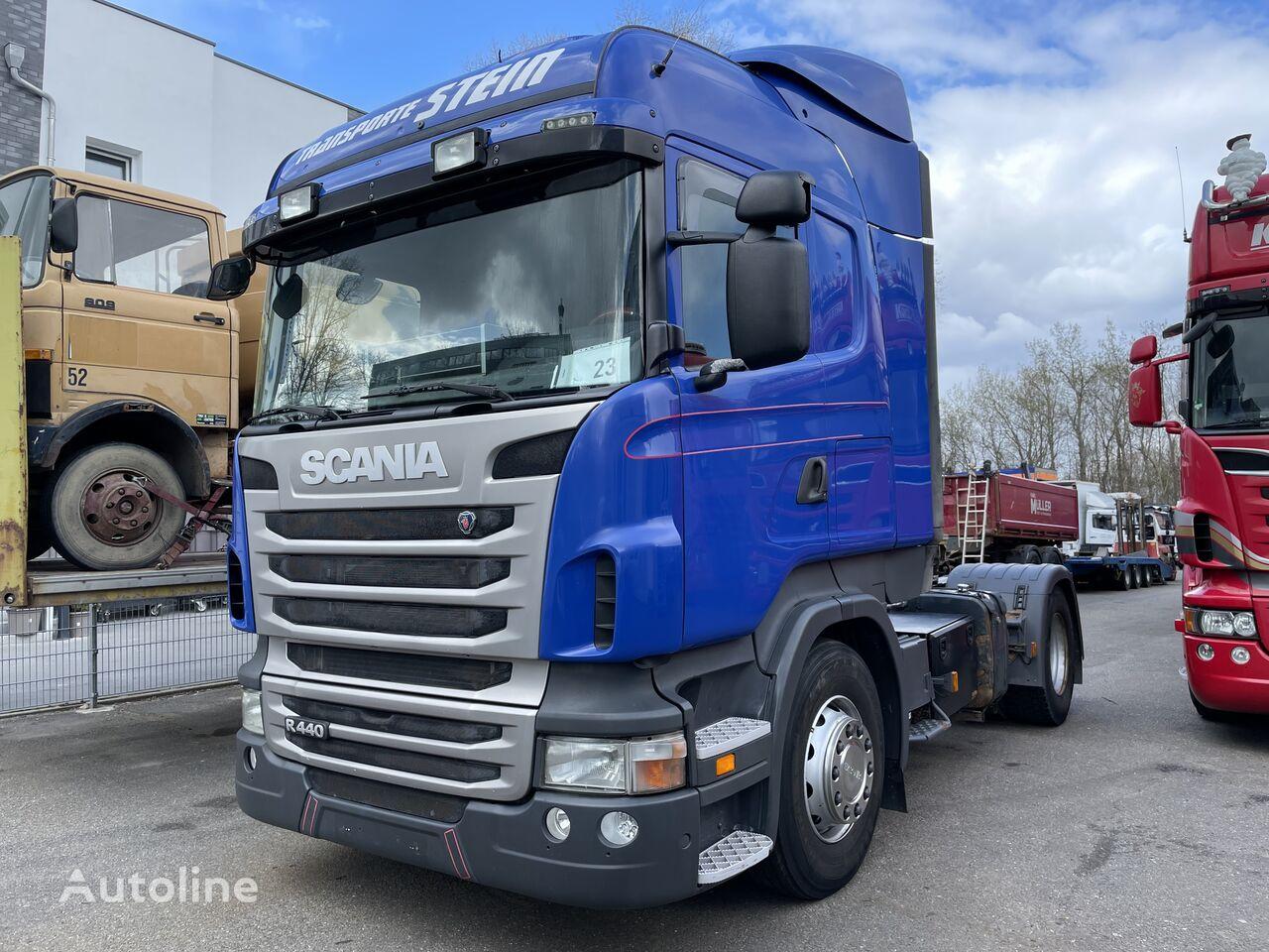 SCANIA Scania R440 Retarder E5 Kipphydraulik German Truck Retarder tractora