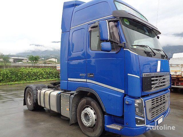 VOLVO FH 16 580 E4 GLOBETROTTER XL MANUALE ADR tractora