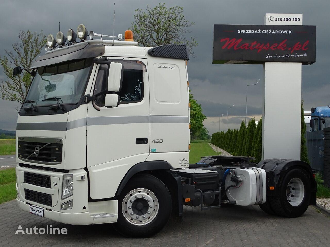 VOLVO FH 460 / LOW CAB / RETARDER / KIPPER HYDRAULIC SYSTEM / EEV /  tractora