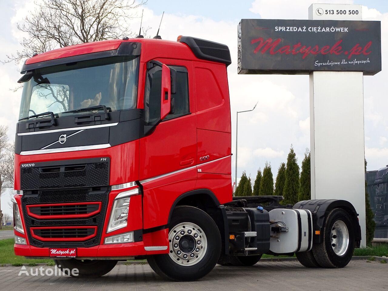 VOLVO FH 500 / LOW CAB / KIPPER HYDRAULIC SYSTEM / EURO 6 /  tractora