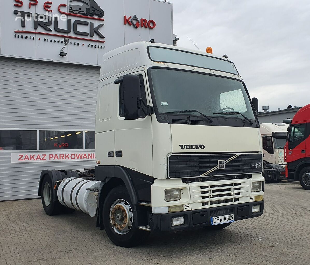 VOLVO FH12 380, Steel/Air, Manual, EURO 2  tractora
