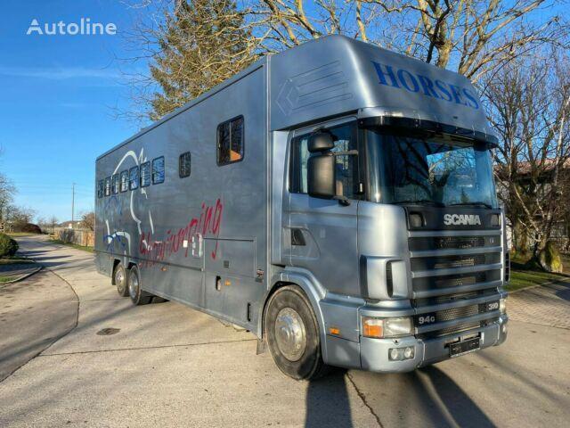 SCANIA transportador de caballos