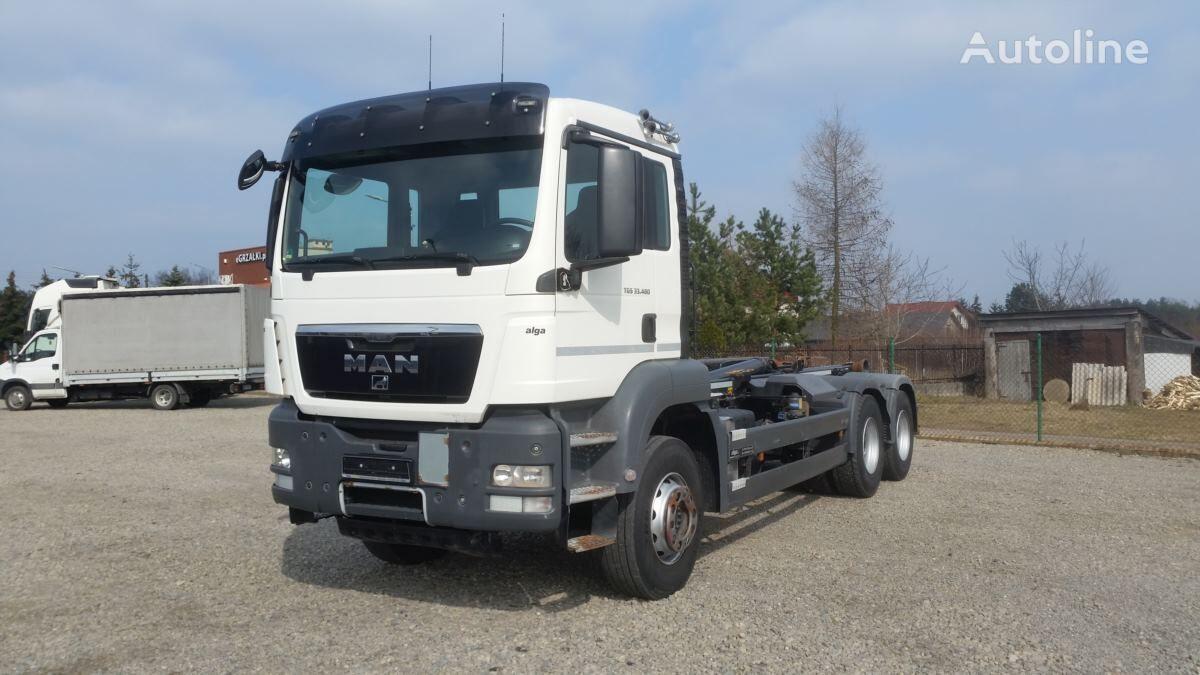 MAN TGS 33.480 6x4 camión caja abierta < 3.5t