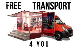 BANNERT EVENT, SZKOLENIA TARGI !!!FREE TRANSPORT 4 YOU!!! camión tienda < 3.5t nuevo