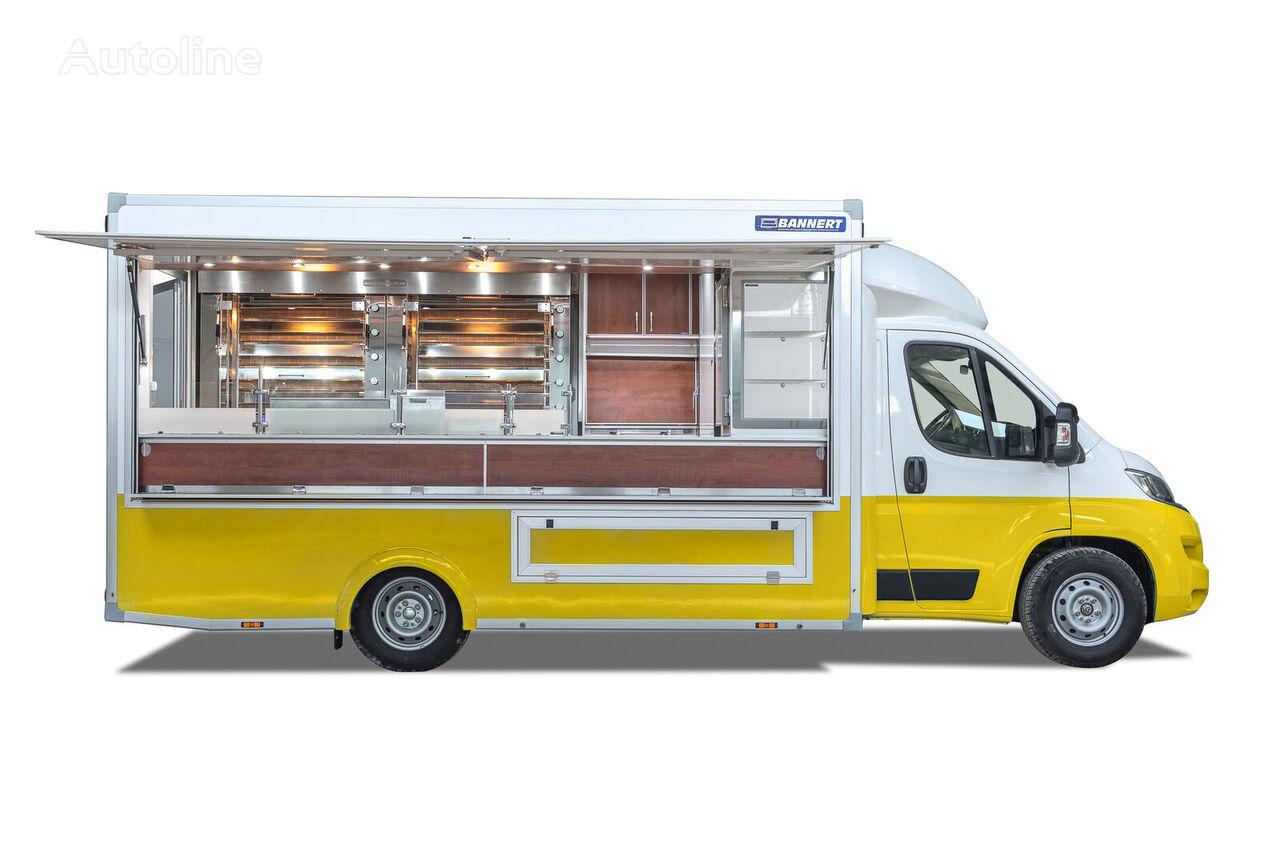 BANNERT FOOD TRUCK Imbiss Handlowy Kurczak camión tienda < 3.5t nuevo