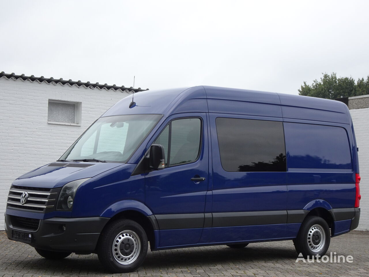VOLKSWAGEN Crafter 2.0 Tdi 100 kw L2H2 Doppelkabine Klima Ahk Pdc Euro 5 furgoneta