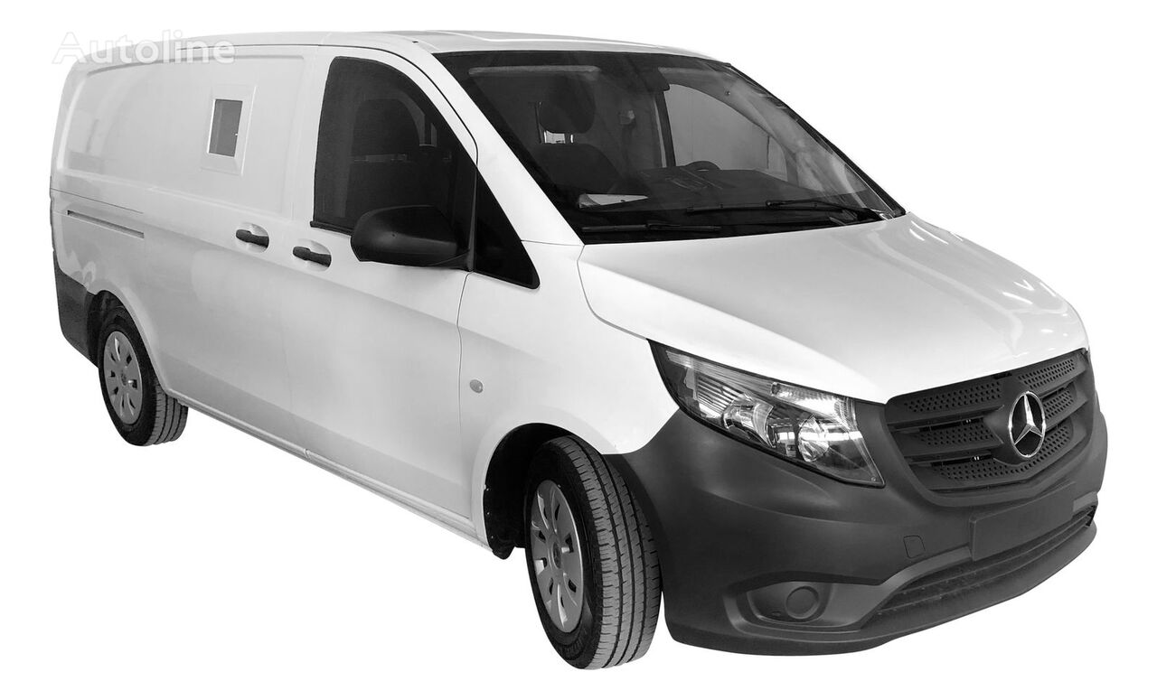 MERCEDES-BENZ ARMOURED B4 BULLET-PROOF MONEY -CASH TRANSFER VEHICLE (VAN) furgoneta para transporte de fondos nueva