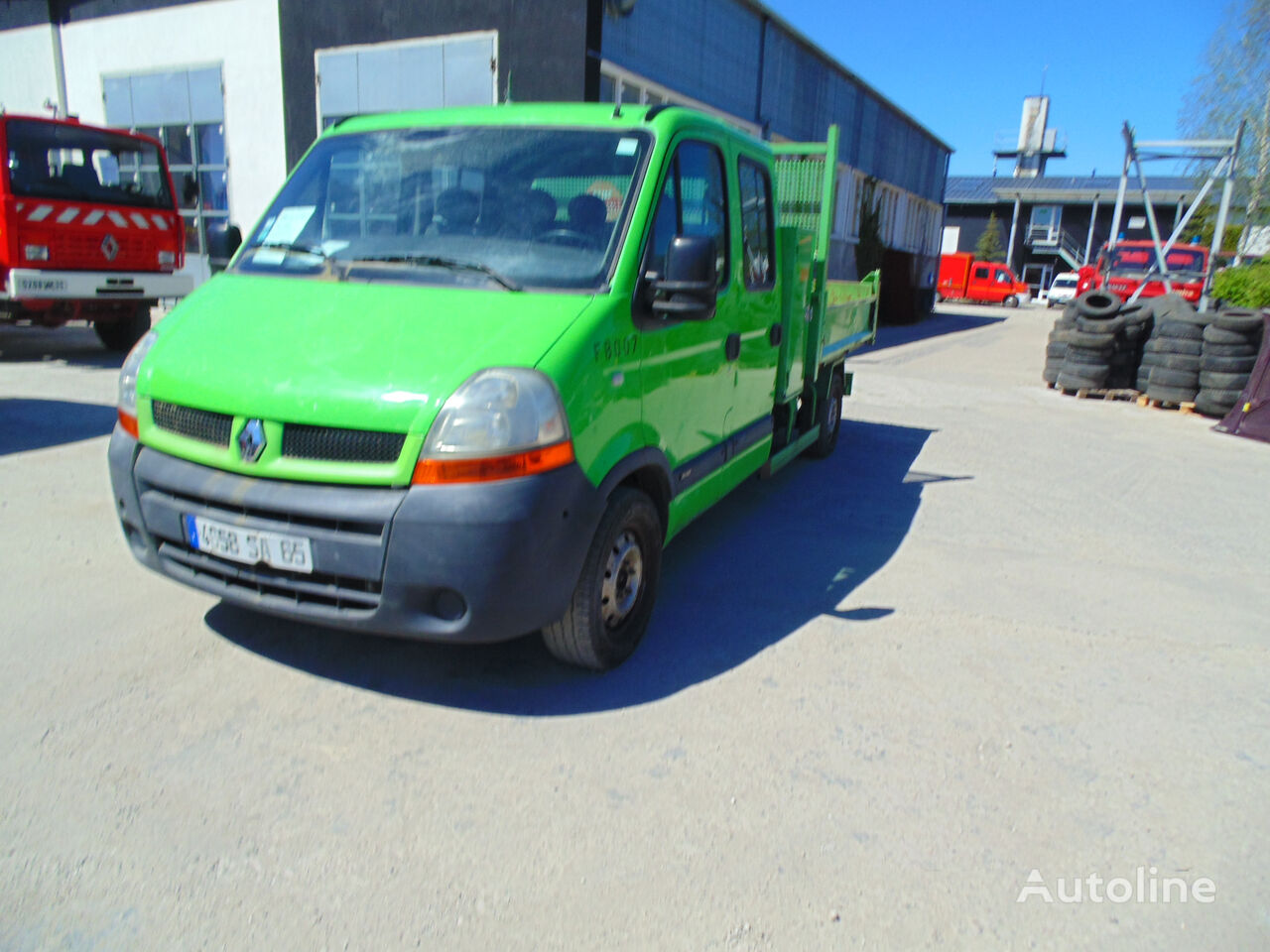RENAULT Master 2.5 DCI Doka 7-osobowy volquete < 3.5t